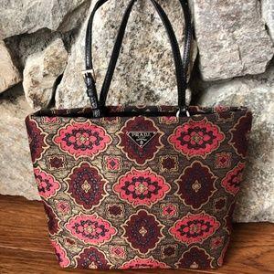 Mini Prada Brocade Bag